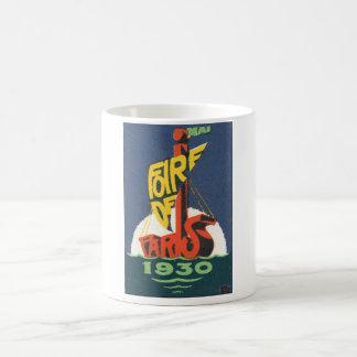 Foire de Paris 1930 Vintage Travel Poster Coffee Mug