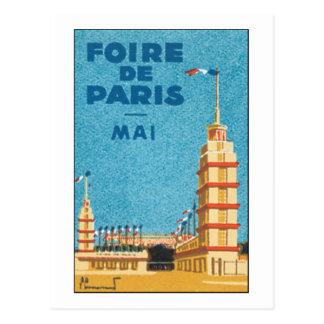 Foire de Paris Postcard
