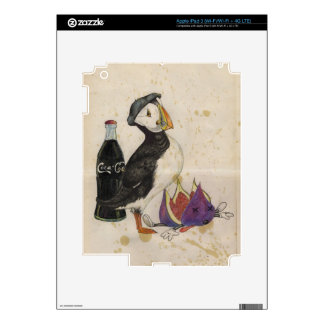 Fois gras with fige and brandy iPad 3 decal