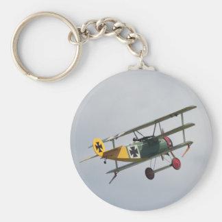 Fokker D.I Triplane Keychain