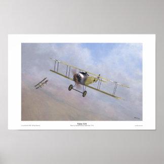 Fokker D.III Poster