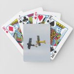 Fokker D.VII Models In Flight Bicycle Playing Cards
