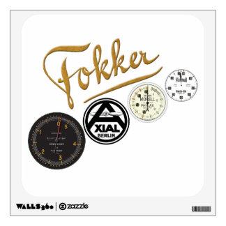 Fokker Dr1 Logo Collection Sticker Wall Skins