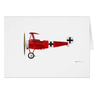Fokker DR-1 Triplane Card