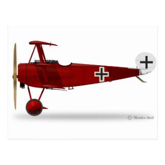 Fokker Dr 1 Triplane Postcard