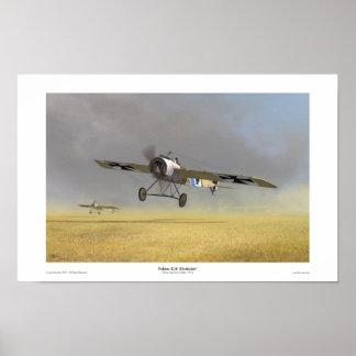 Fokker E.III 'Eindecker' Poster