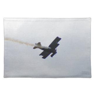 Fokker modelo que hace humo manteles
