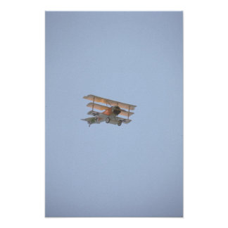 Fokker Tri-plane - Replica Of Red Baron Print