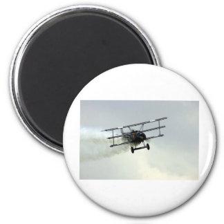Fokker triplane 2 inch round magnet