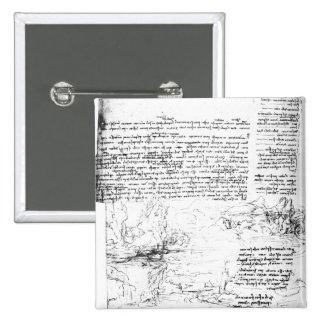 Fol.145v-a, página del cuaderno de da Vinci Pin Cuadrado