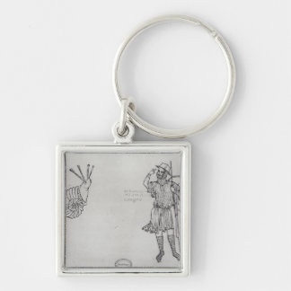 Fol.2 Snail and Hungarian soldier Keychain