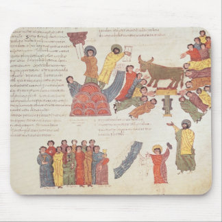 Fol.46r Adoration of the Golden Calf Mouse Pad