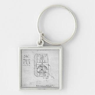 Fol. 54r from Paris Manuscript B, 1488-90 Keychain