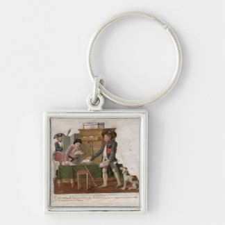 Fol.55 Country Folk and the Money Changer Keychain
