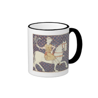 Fol 58v May Falconry Coffee Mugs