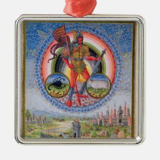 "Fol.7v el planeta Marte, de ""De Sphaera"", 1470 Ornamente De Reyes"