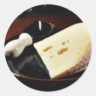 Fol Epi Cheese Classic Round Sticker