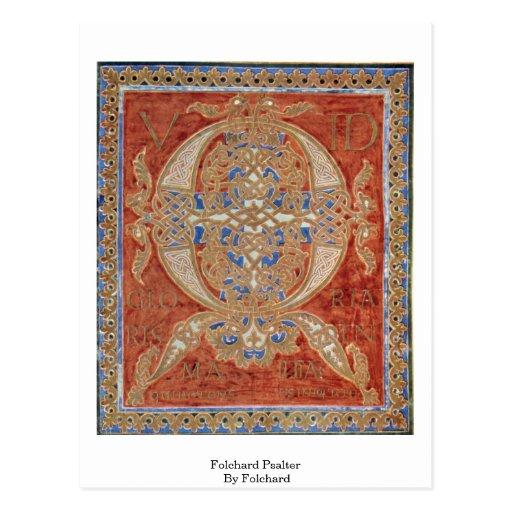 Folchard Psalter By Folchard Postcards