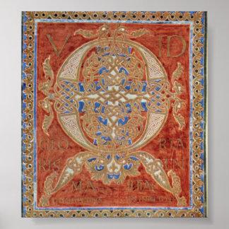 Folchart Psalter - Folchard Psalter Poster