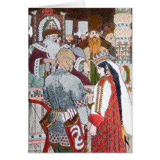Folclore ruso Notecard Tarjeta Pequeña