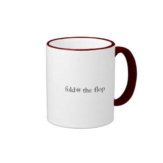 Fold at the Flop Ringer Mug