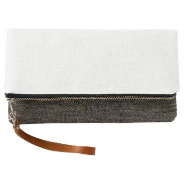 Beach Themed Fold-over Clutch, Charcoal Clutch