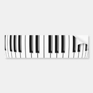 Fold Piano Bumper Sticker