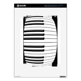 Fold Piano iPad 3 Decal