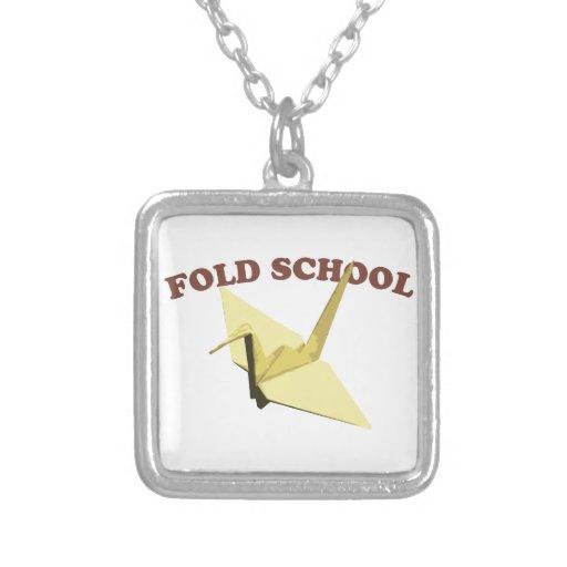 Fold School (Origami) Custom Jewelry