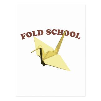 Fold School (Origami) Postcards