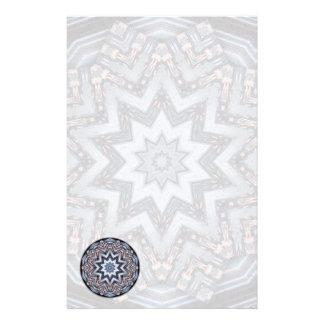 Folded Angles Mandala • Stationery