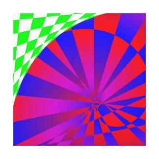 Folded Dimensions by Kenneth Yoncich Canvas Print