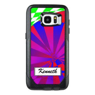 Folded Dimensions by Kenneth Yoncich OtterBox Samsung Galaxy S7 Edge Case