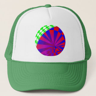 Folded Dimensions by Kenneth Yoncich Trucker Hat