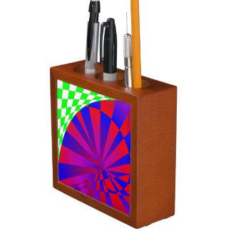 Folded Dimensions Desk Organizer