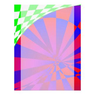Folded Dimensions Letterhead