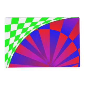Folded Dimensions Placemat