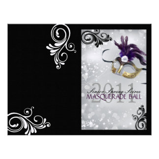 Folded Masquerade - Booklet Cover Letterhead