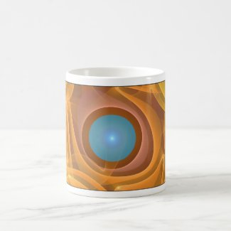 'Folded Sunlight' mug mug