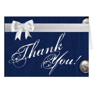 Folded Thank You Card Air Force Class A Uniform