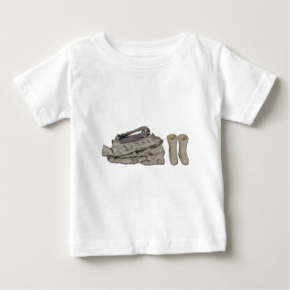 FoldedSoldierClothes081212.png Baby T-Shirt