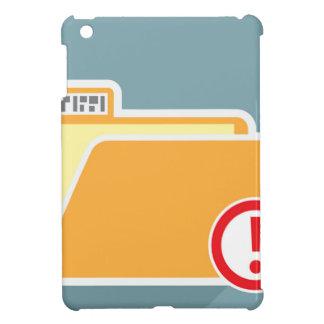 Folder Alert Unknown Attention iPad Mini Cover