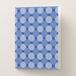 Folder - Blue Dots Overlapping