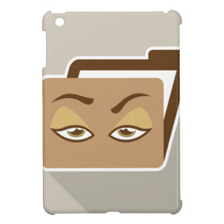Folder Icon with Eyes iPad Mini Cover