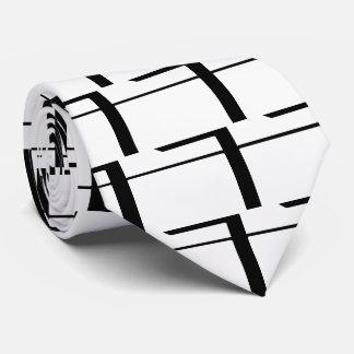 Folder Zips Graphic Tie