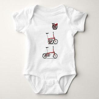 Folding Bike Baby Bodysuit