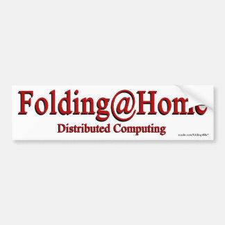 Folding@Home - bumper sticker