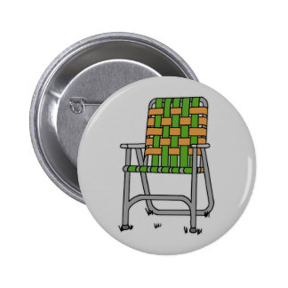 Folding Lawn Chair 2 Inch Round Button