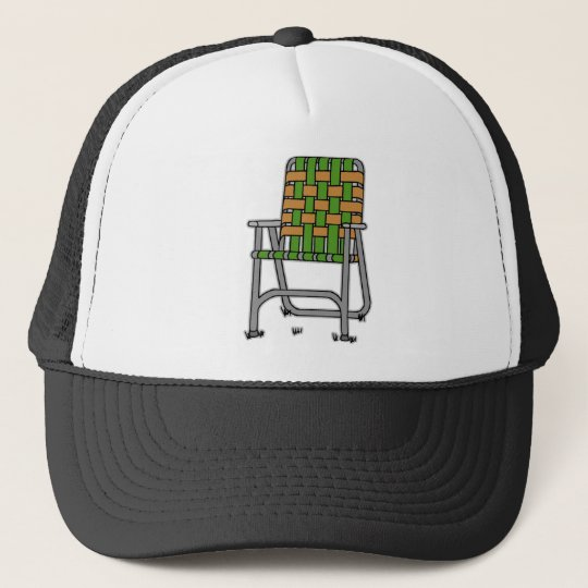 Folding Lawn Chair Trucker Hat