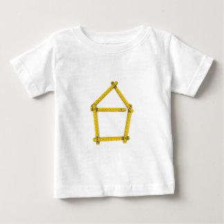 folding ruler - house shape baby T-Shirt